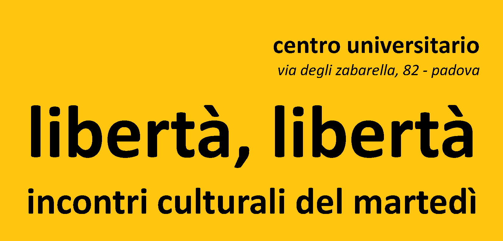 libertà banner